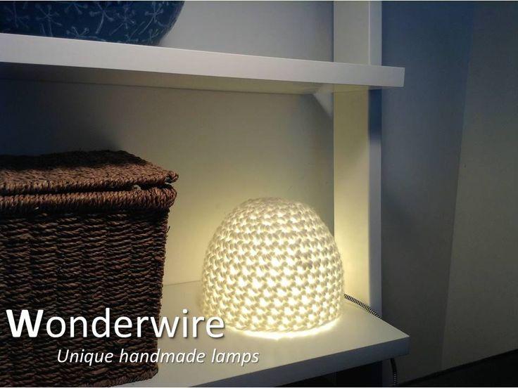 Een persoonlijke favoriet uit mijn Etsy shop https://www.etsy.com/listing/288640169/handmade-design-table-lamp-igloo-white