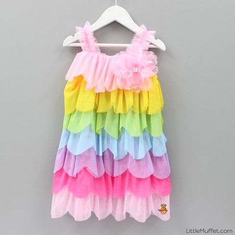 Colour Dream Dress - Toddler & Girls