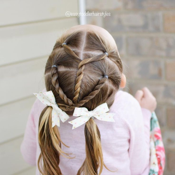 Darling and cute hairstyle idea for a toddler girl