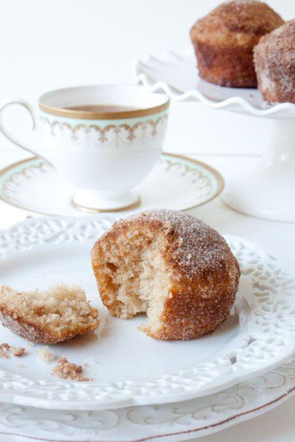 Cinnamon Sugar-crusted Coffee Cake Muffins Coffee Cake Muffins ...