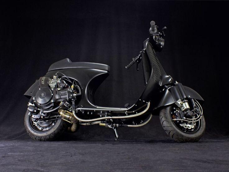 vespa ps 240 scooter service custom vespa scooter. Black Bedroom Furniture Sets. Home Design Ideas