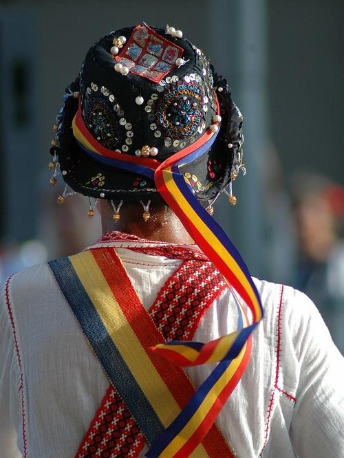 Romanian dancer - calusarii.