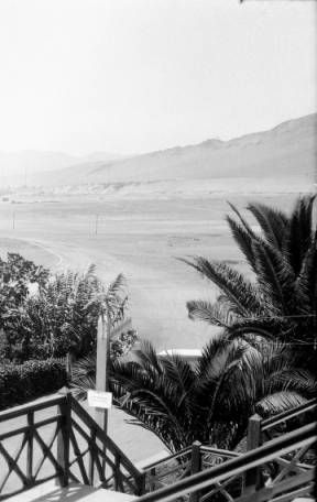 Chile, distant view of Antofagasta from Antofagasta AutoClub :: AGSL Digital Photo Archive - South America
