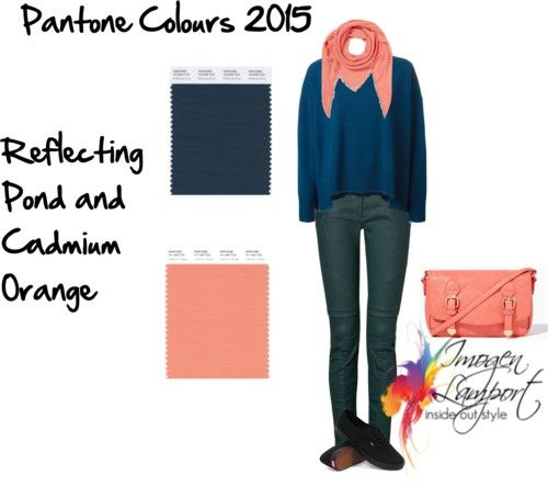 Pantone 2015 Reflecting Pond - What to Wear With It