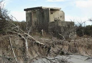 Bribie Island coastal defence