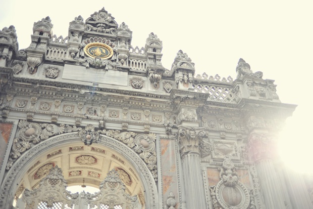 Gate of Dolmabahce Palace
