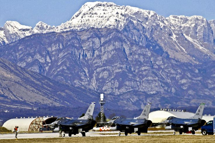 Our first home, Aviano, Italy!