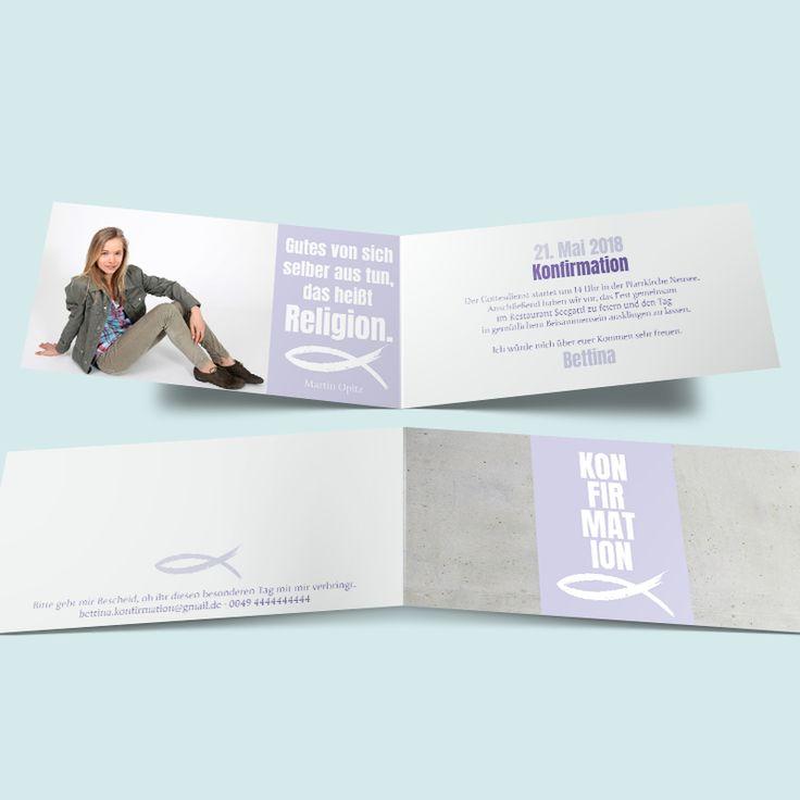 konfirmationskarten fest im glauben moderne einladungen zur konfirmation und firmung hier. Black Bedroom Furniture Sets. Home Design Ideas