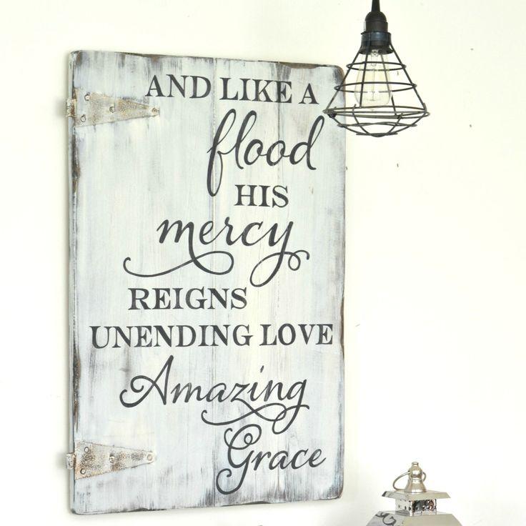 Amazing Grace Sign {semi-custom}