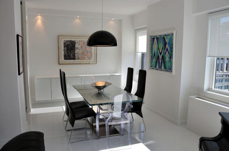 Elegant NY Loft Dining Room