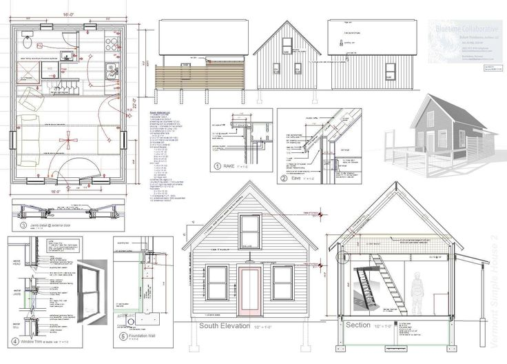 tiny house building plans