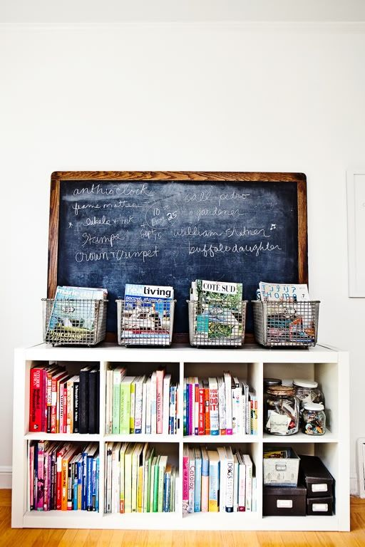 This would be insanely cute in my kitchen to hold cookbooks!