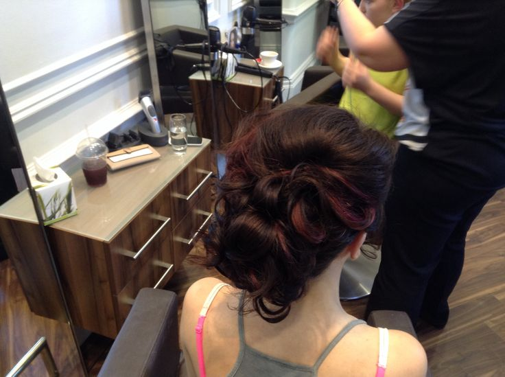 Prom hair up by Lyndsey
