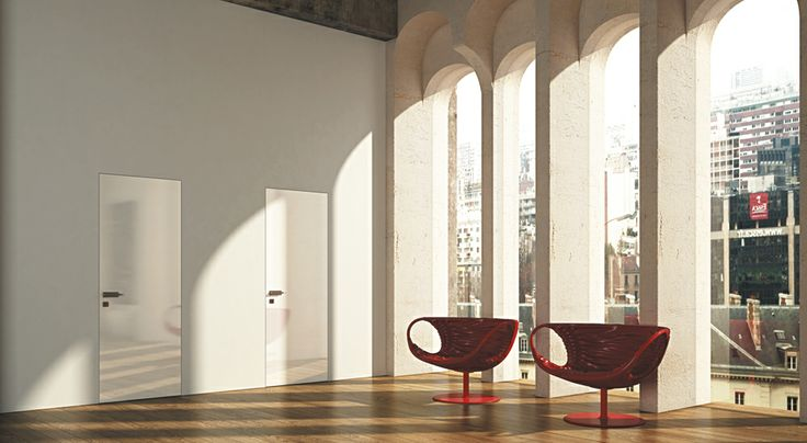 FBP porte | Collezione LIBERA - Colore: laccata brillante bianca #fbp #porte #legno #laccata# alluminio #door #wood #varnish