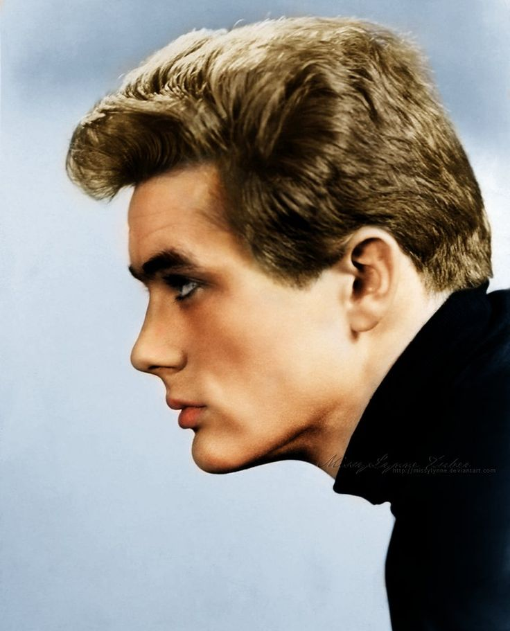 The Rebel by MissyLynne - James Dean, love his profile!