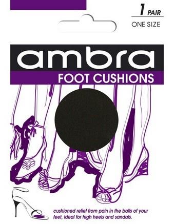 ambra foot cushions for comfy feet!