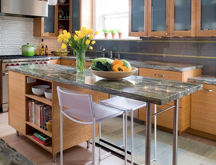 Small Kitchen Island Ideas for Every Space and Budget - http://freshome.com/small-kitchen-island-ideas/