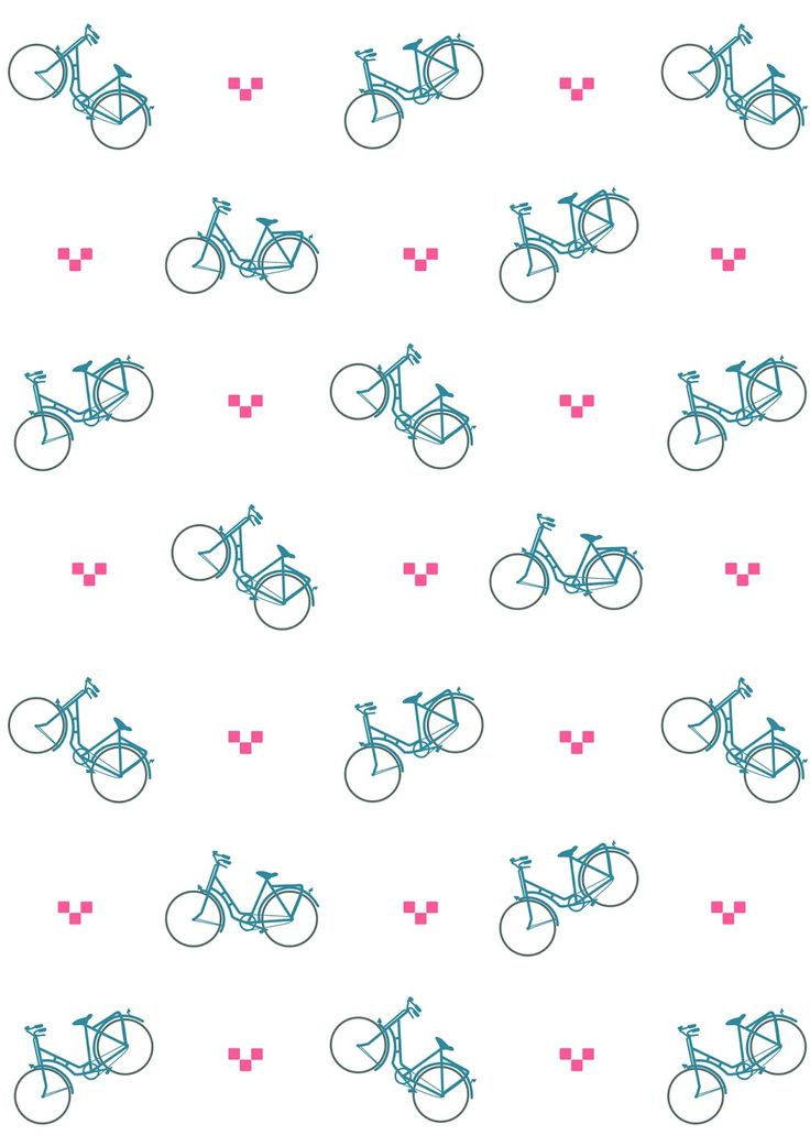 FREE printable bicycle pattern paper | #bicycle