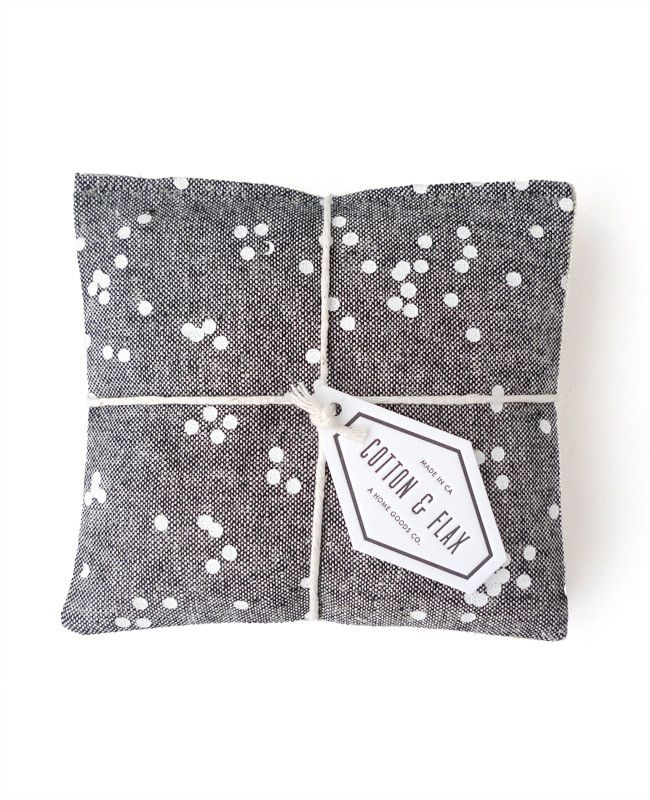 Chambray Linen Lavender Sachet - made with organic lavender