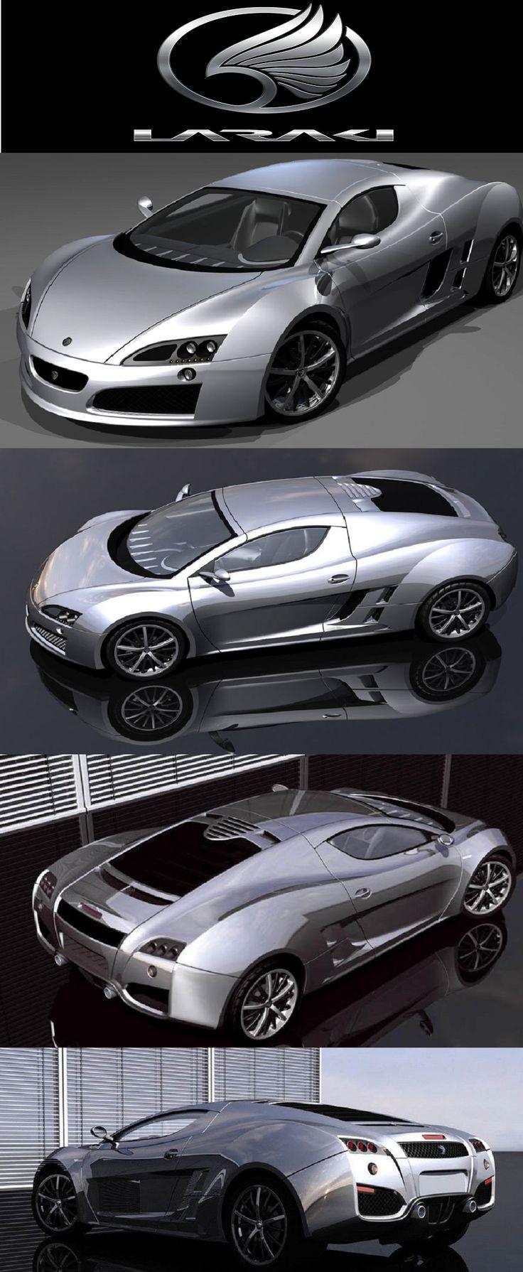 Laraki fulgura concept concept carssupercars
