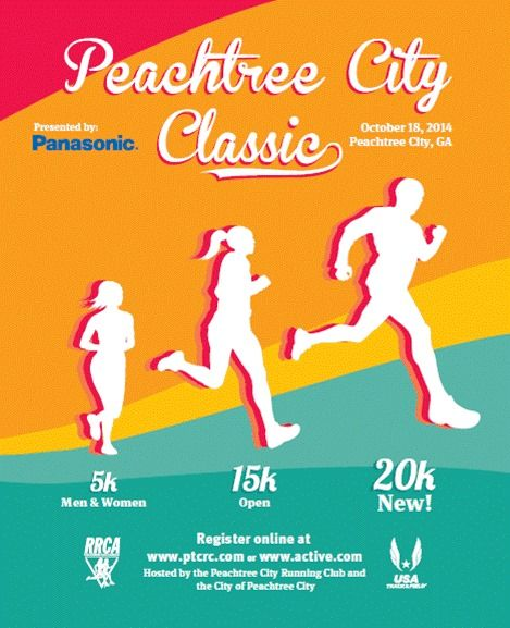 The Peachtree city classic is Saturday. http://on.fb.me/1w5yeAF
