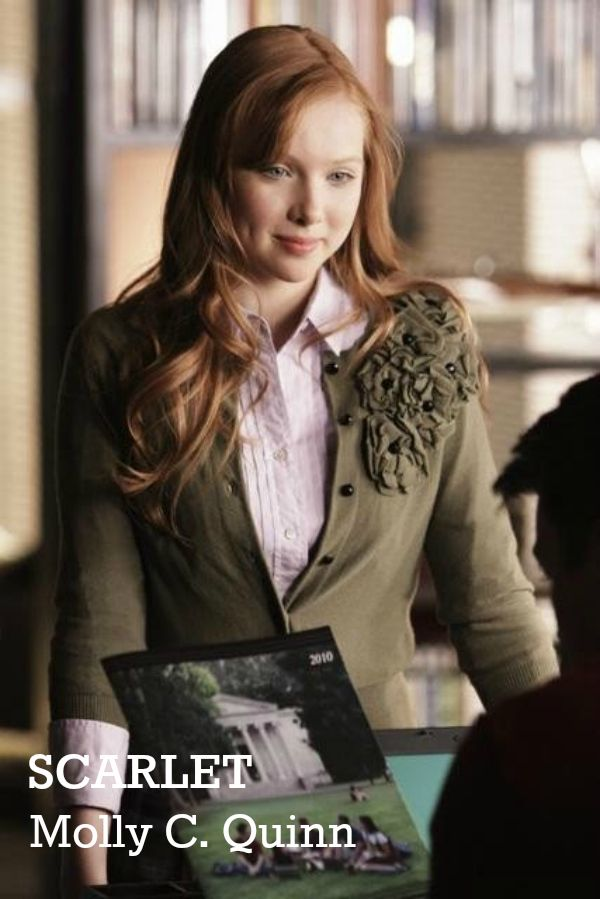 Molly C. Quinn as Scarlet in The Lunar Chronicles