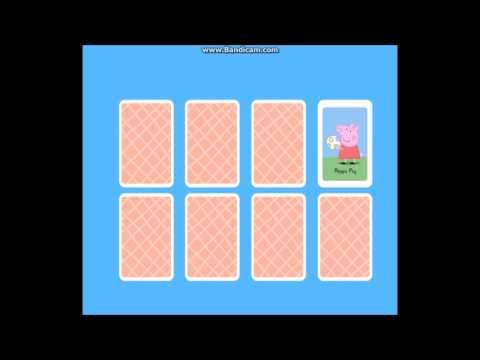 Peppa Pig Games Online Free Peppa's Matching Pairs Game By WD Toys