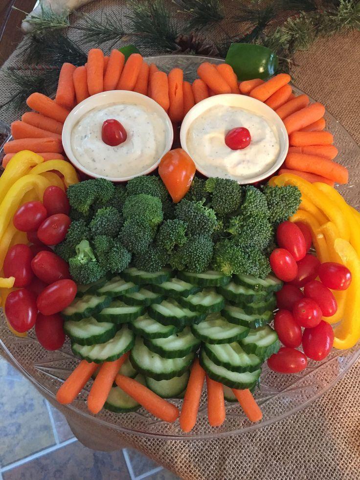 Owl Vegetable Tray, Baby Shower, Boy Birthday, …