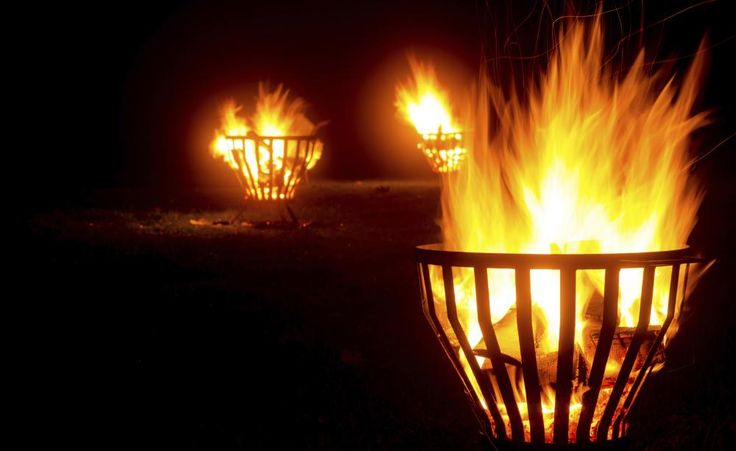 Licht Und Wärme Für Den Garten: Feuerkörbe Und Feuerschalen | Garten Feuerkorb Im Garten Gestaltungstipps
