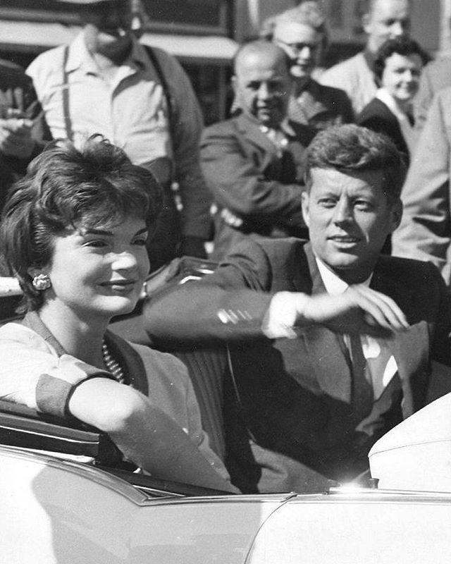 JFK and Jackie                                                       …