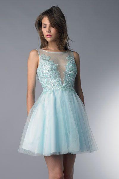The 27 best Short Prom Dresses images on Pinterest | Ballroom dress ...