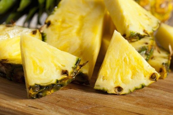 Pineapple is packed with healthy nutrients that protect us against many ailments. Pineapple tastes sweet and contains great amount of vitamins A and C, fiber, phosphorus, potassium, and calcium. 000010 Related Comments comments