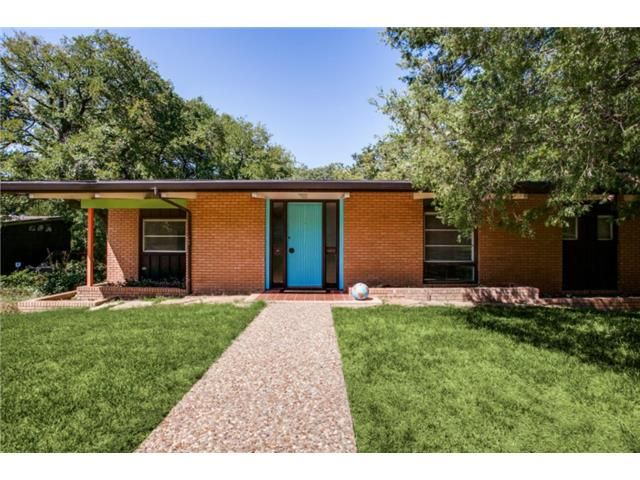 52 best bunkley mcbroom images on pinterest for the for Mid century modern homes dallas