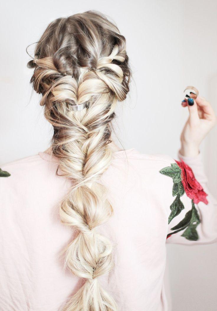KASSINKA Topsy Tail Braid Hair Tutorial with Scunci @scunci