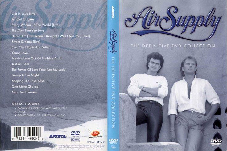 Full DVD de Videos de Air Supply The Definitive Collection