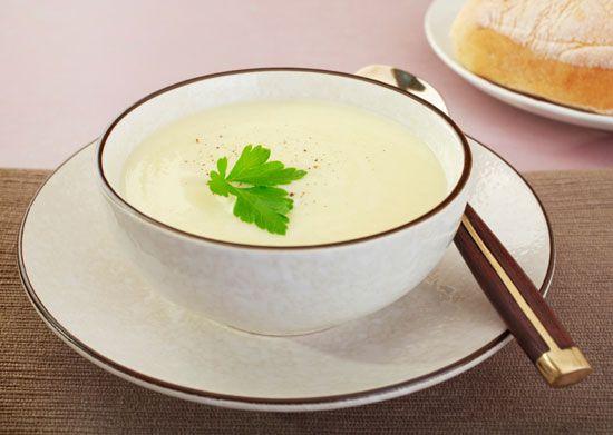 Суп из цветной капусты сельдерея без мяса