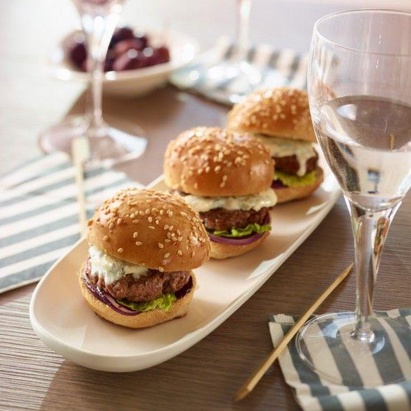 Recette Mini-Burgers Auvergnat (facile) : Francine, recette de Mini-Burgers Auvergnat pour 4
