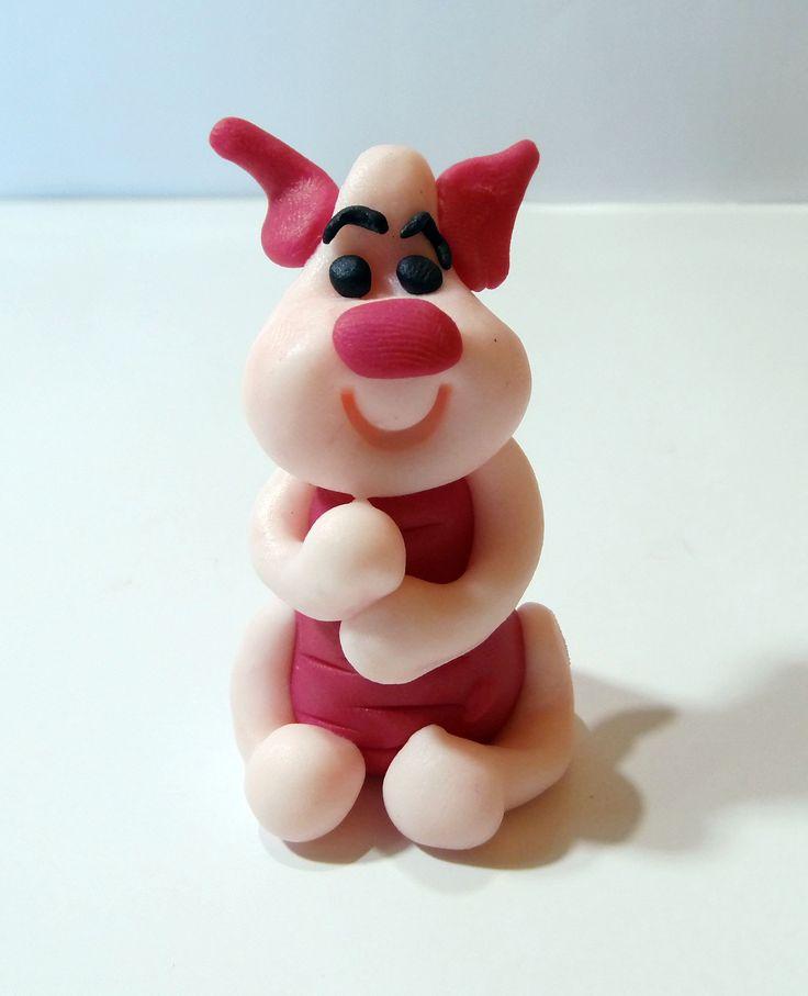 Jak ulepić prosiaczka z modeliny ?  How to do with modeling clay piglet