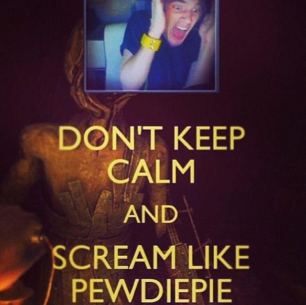 SCREAM LIKE THE PEWDS! ~PewDiePie~
