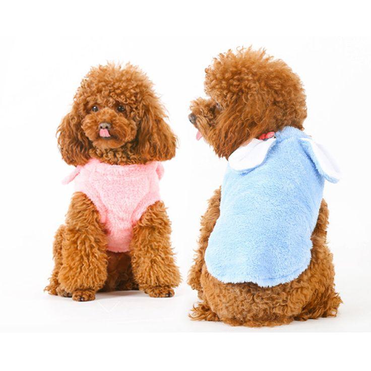 Одежда для собак Зима Розовый Синий Бархат Пять Размеров XS XL Теплый мягкая Собака Пальто Для Щенков, Кошек Чихуахуа Небольшие Одежды Собаки Йорки 4 купить на AliExpress