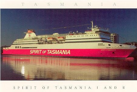 Spirit of Tasmania - ferry service between Tasmania and Australian mainland.