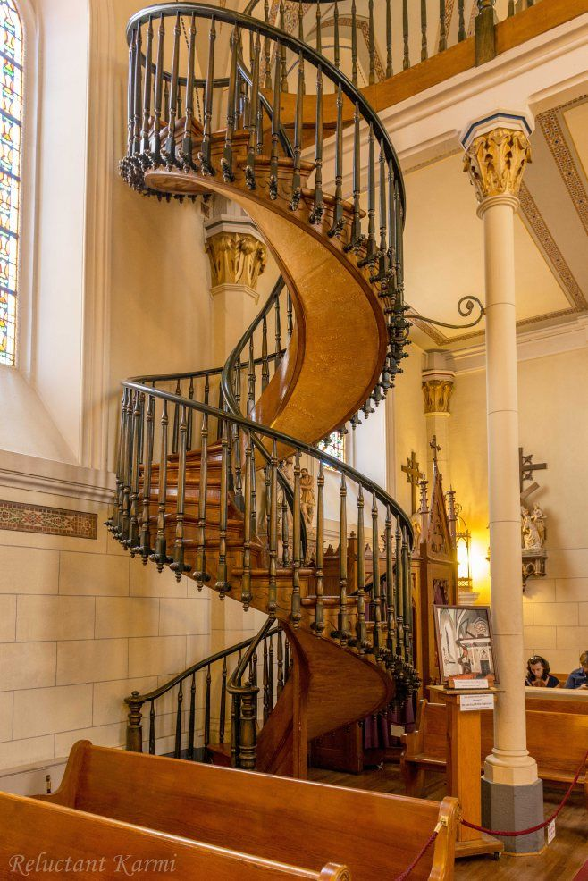 Best Miraculous Staircase Loretto Chapel Santa Fe New 400 x 300