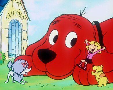 Clifford, o gigante cão vermelho