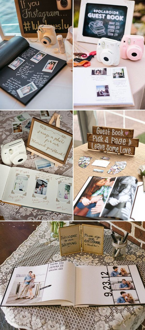 Scrapbook guest book ideas - 25 Best Ideas About Photo Guest Book On Pinterest Girl Wedding Guest Ideas My Photo Book And Farmhouse Photo Albums
