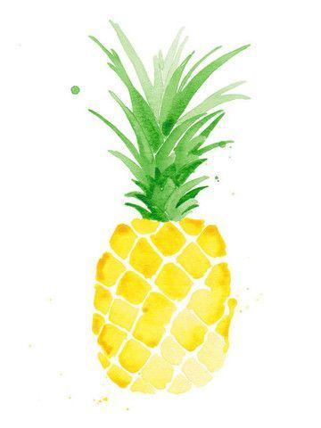Piña Print - Yellow | The Aestate Love Pineapples. Fun print!
