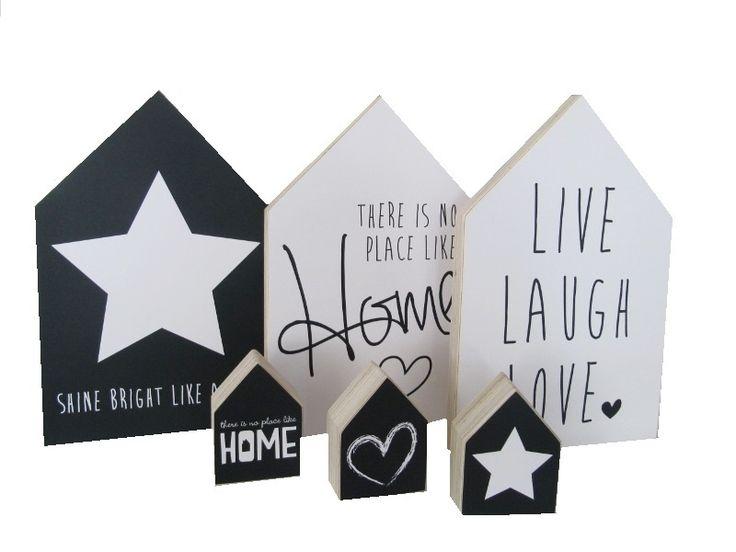 Vanaf nu verkrijgbaar in onze webwinkel deze super leuke houtprints van Dots Lifestyle.
