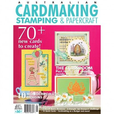 Cardmaking, Stamping & Papercraft - Volume 18 No.6 (just $1.95). Find out more at: http://www.patchworkandcraft.com.au/digital-magazines/cardmaking-stamping-papercraft-volume-18-no-6.html