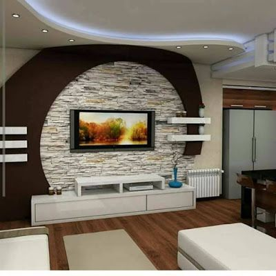 Gypsum Board Tv Wall Design With Led Lights For Modern Living Rooms 2019 Kitchen Interior Design Decor Tv Wall Design Living Room Design Decor