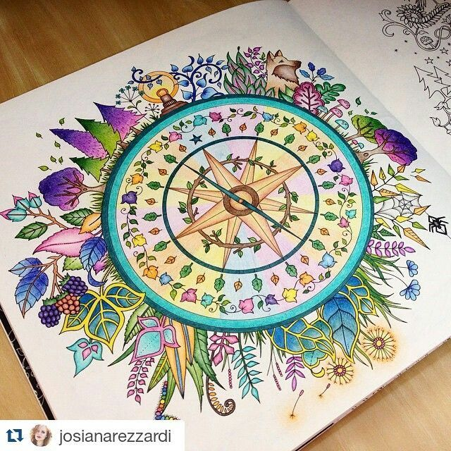 Johanna Basford Coloring Book Joanna Adult Books Colouring Mandala How To Draw Enchanted Forest Colored