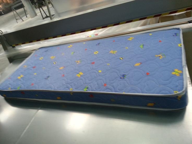 O saltea ortopedica pentru copii, gata de plecare :)